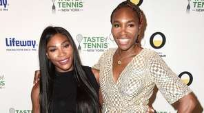 Serena Williams and Venus Williams attend Taste Of