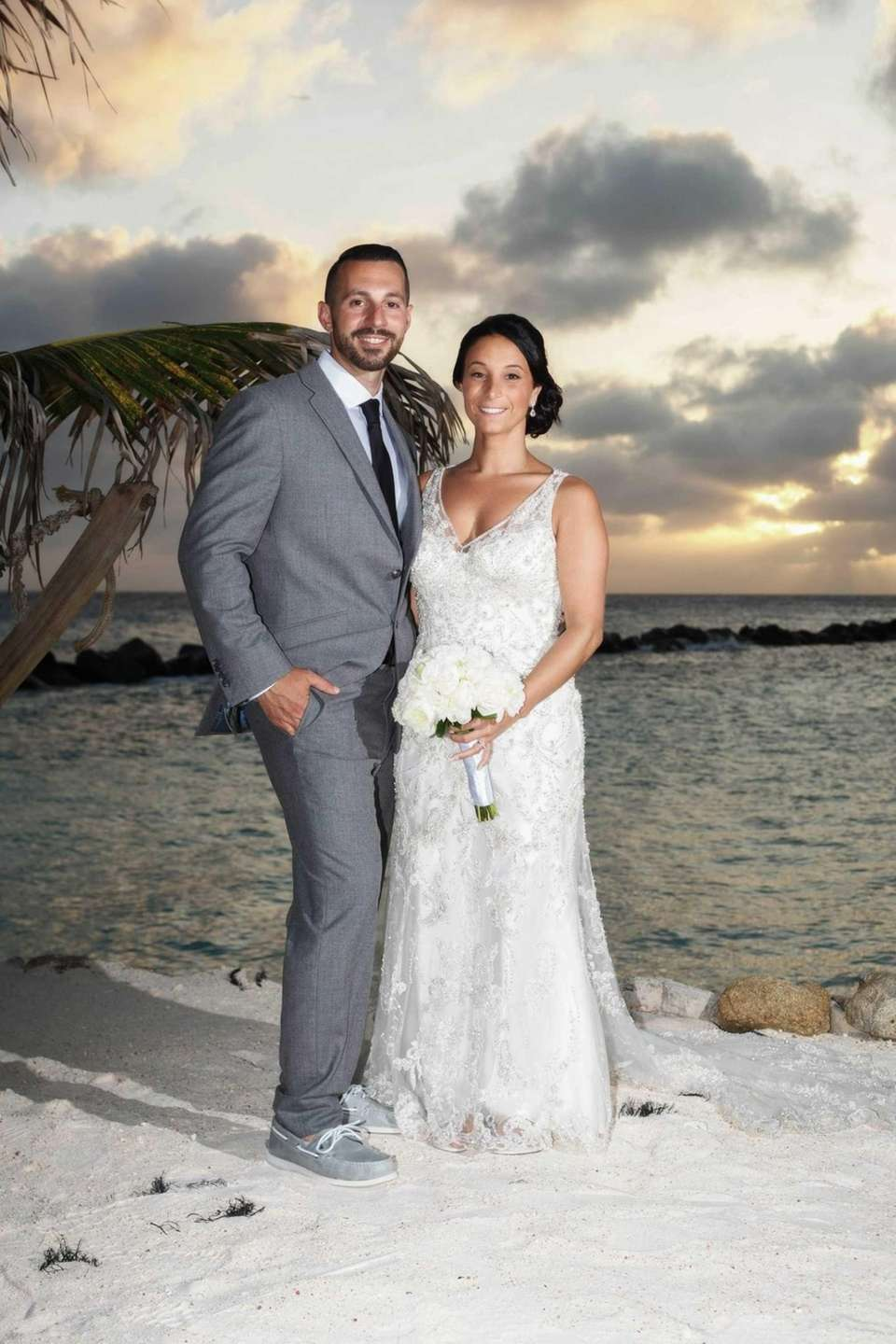 Ray and Christine Sanicola were married on the