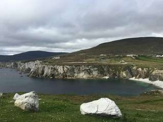 Driving the Wild Atlantic Way in County Mayo,