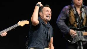 Bruce Springsteen and the E Street Band played