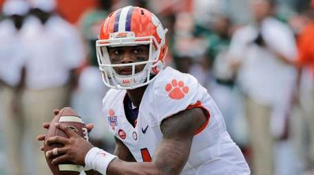 In this Oct. 24, 2015, file photo, Clemson