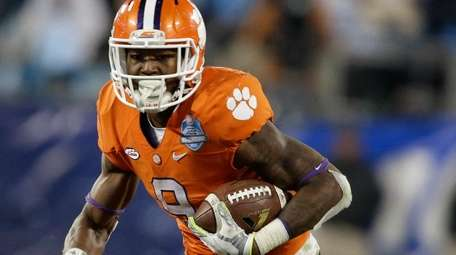In this Dec. 5, 2015, file photo, Clemson's