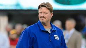 New York Giants head coach Ben McAdoo during