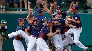Endwell, N.Y. celebrates its win over South Korea