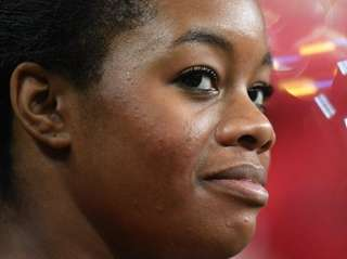 U.S. Olympic gold medalist Gabby Douglas, shown in