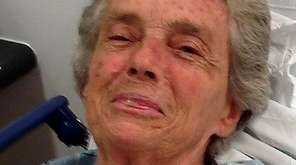 Suffolk police said this woman with dementia was