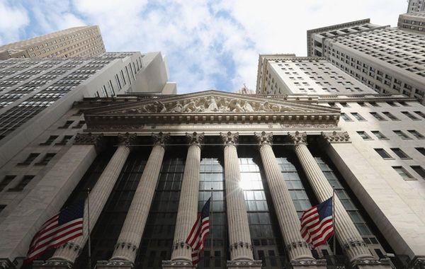 The New York Stock Exchange building on Aug.