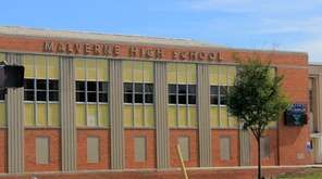 Malverne High School in Malverne is shown in