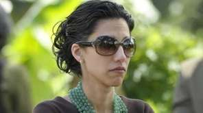 Huma Abedin is seen at the Upendo Women's