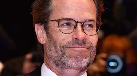 Guy Pearce says his newborn son's name is