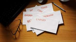 Intimidated by debt collectors, people being sued sometimes