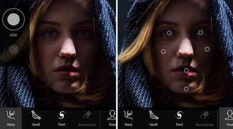 The Photoshop Fix mobile app lets you enhance