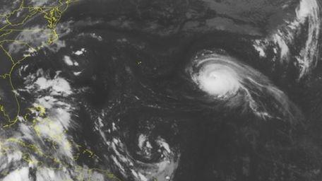 This NOAA satellite image taken Monday, Aug. 29,