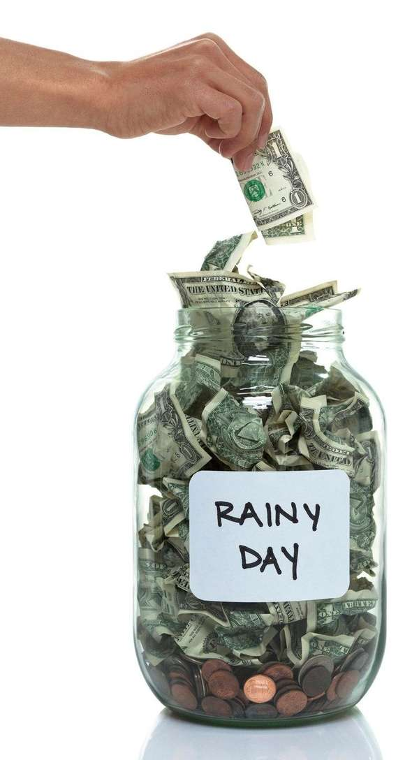 A rainy day fund may get you through,
