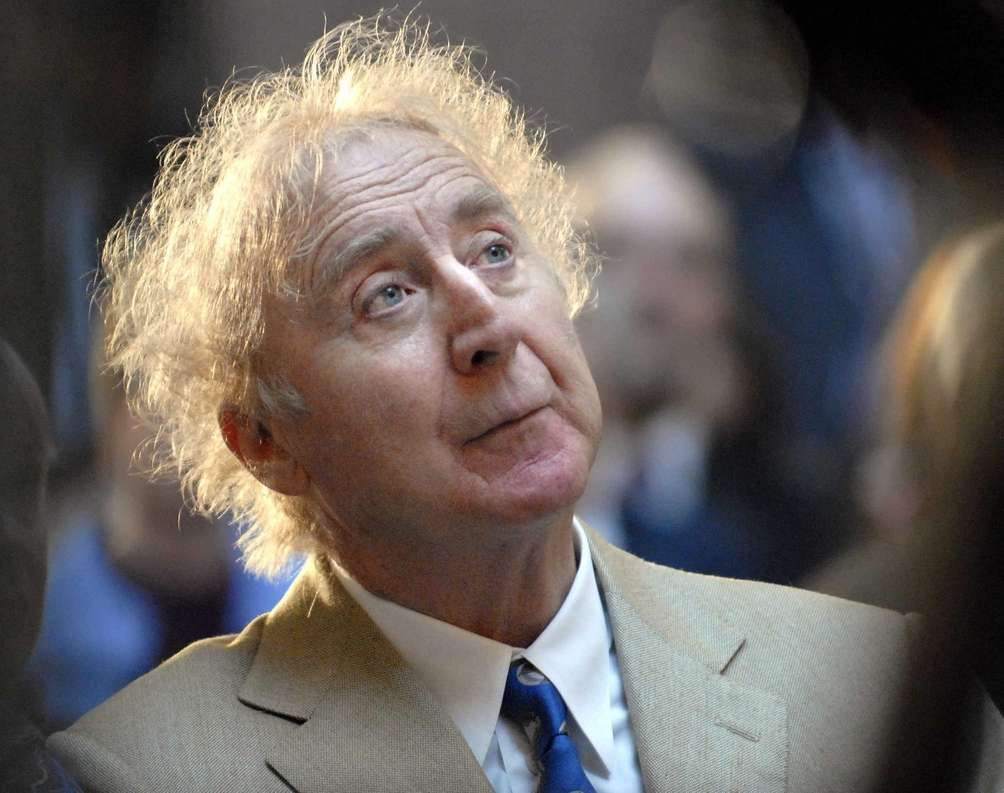 Gene Wilder, seen on April 9, 2008, who
