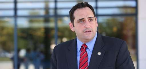 State Assemb. Chad Lupinacci speaks during a news