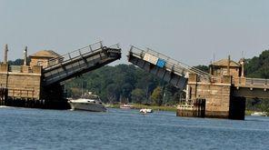 The Bayville bridge, seen on Aug. 27, 2016,