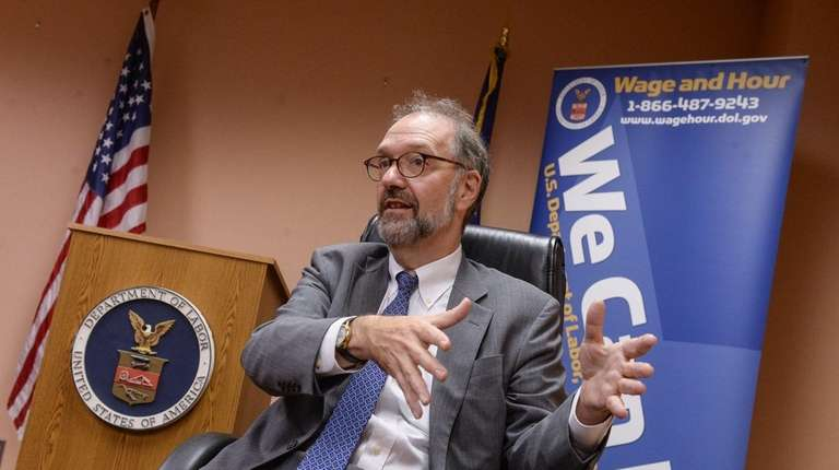 David Weil, administrator for the U.S. Department of