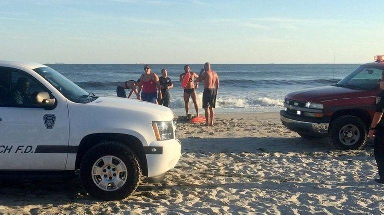 Long Beach rescuers were called to Ocean Beach