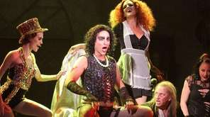 From left, Mychal Phillips (Columbia), Matthew LaBanca (Frank-N-Furter),