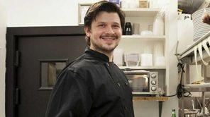 Kent Monkan runs the kitchen at Heirloom Tavern