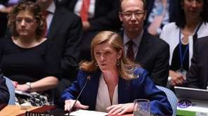 U.S. Ambassador to the UN Samantha Power says