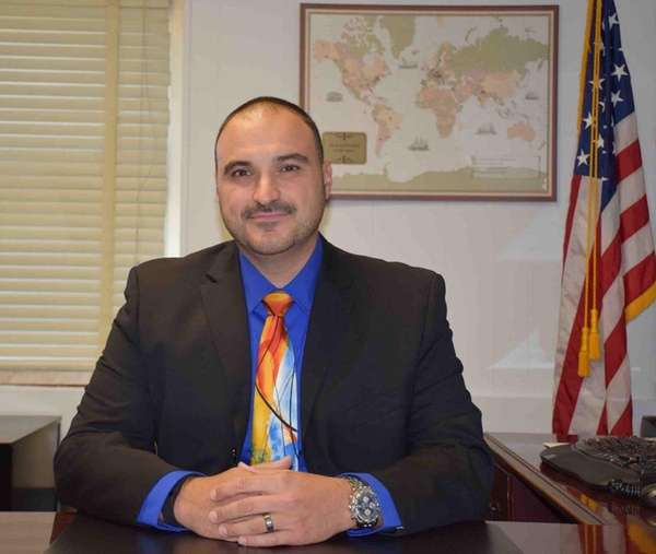Jonathan Cutolo, of Lindenhurst, a special-education teacher at