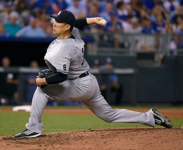 Masahiro Tanaka allowed two runs and four hits