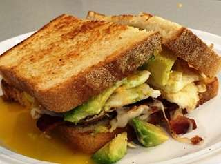You can design your own egg sandwich at