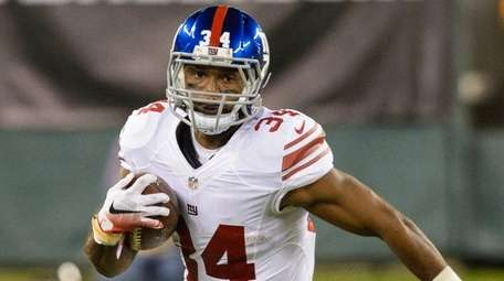 Giants running back Shane Vereen during the first