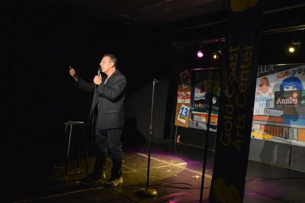 Paul Anthony hosted the 50+ Comedy Tour at