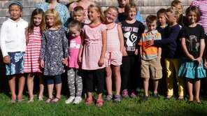 Chances are good this year's kindergarten classes will