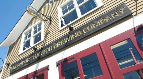 The original Greenport Harbor Brewing Co. was housed