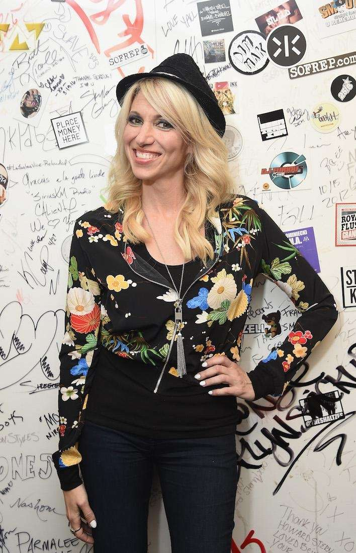 Singer Debbie Gibson visits SiriusXM Studios on Aug.
