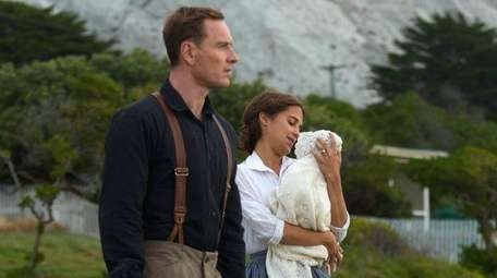 Michael Fassbender and Alicia Vikander star in