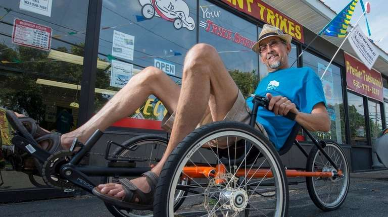 Greg Davis, owner of Your Trike Spirit, at