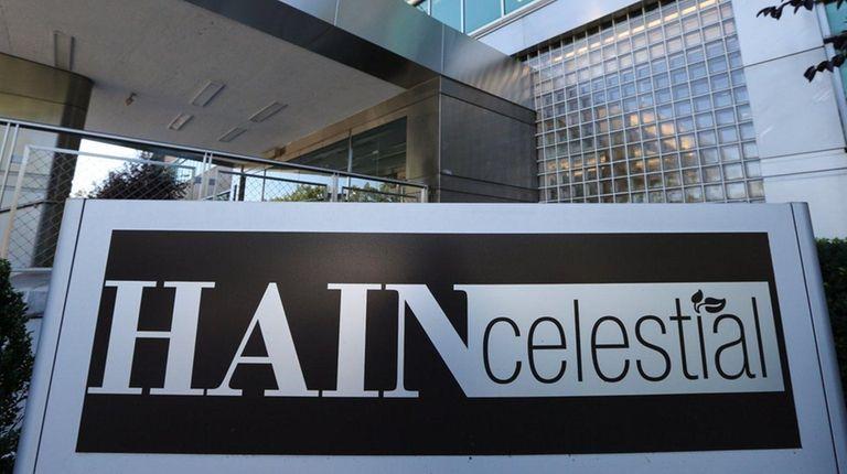 Hain Celestial's headquarters 111 Marcus Ave. in Lake