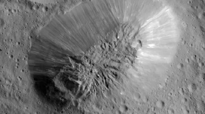 This image provided by NASA, shows an inactive