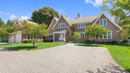 This 32-acre property in Sagaponack sits on Poxabogue