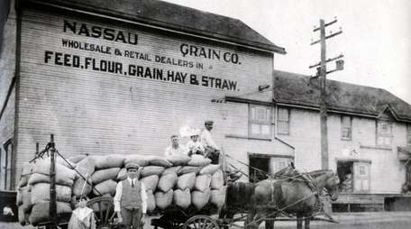 The Nassau Grain Company operated by Jeremiah S.