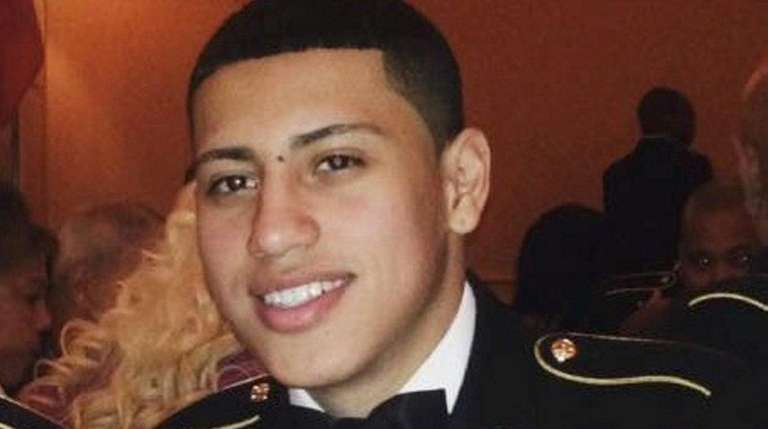 Giovanny Sanchez, 24, of Brentwood, died after the