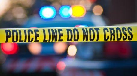 A police crime scene.