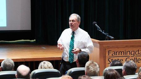 John S. Nader, President of Farmingdale State College,