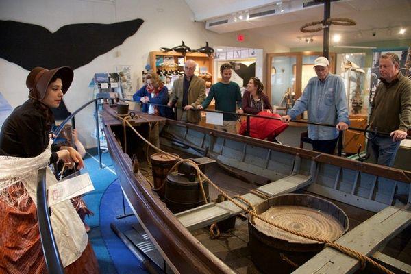 Nomi Dayan, executive director at the Whaling Museum