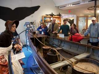 Nomi Dayan, executive director at the Whaling Museum