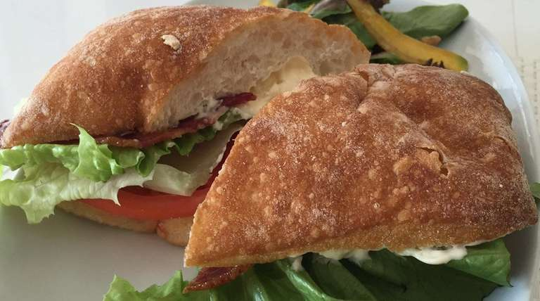 At Me'Lore in Oceanside, a BLT comes on