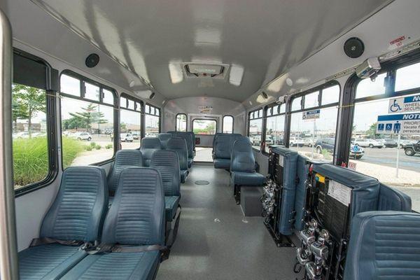 New NICE small buses at MTA Long Island