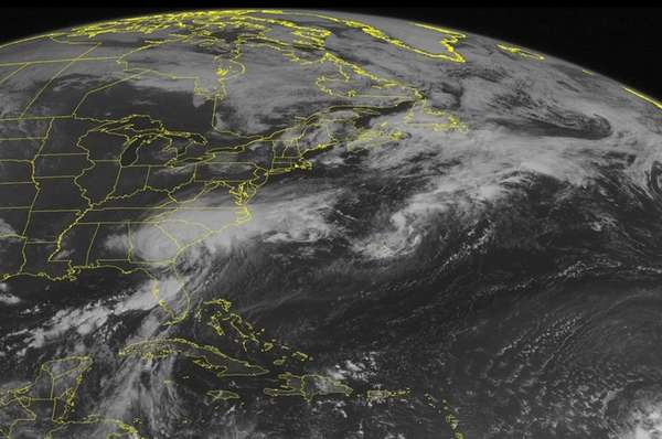 This NOAA satellite image taken Friday, Sept. 02,