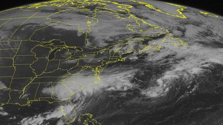 This NOAA satellite image taken Friday, Sept. 02,