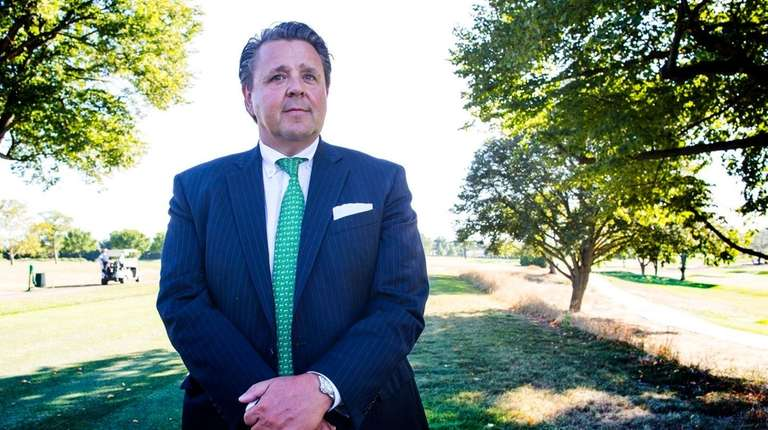 Steven Eckna, of Garden City, pictured here at